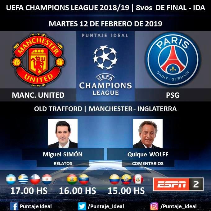 espn en vivo manchester united vs psg en vivo online v a espn directv movistar univisi n. Black Bedroom Furniture Sets. Home Design Ideas