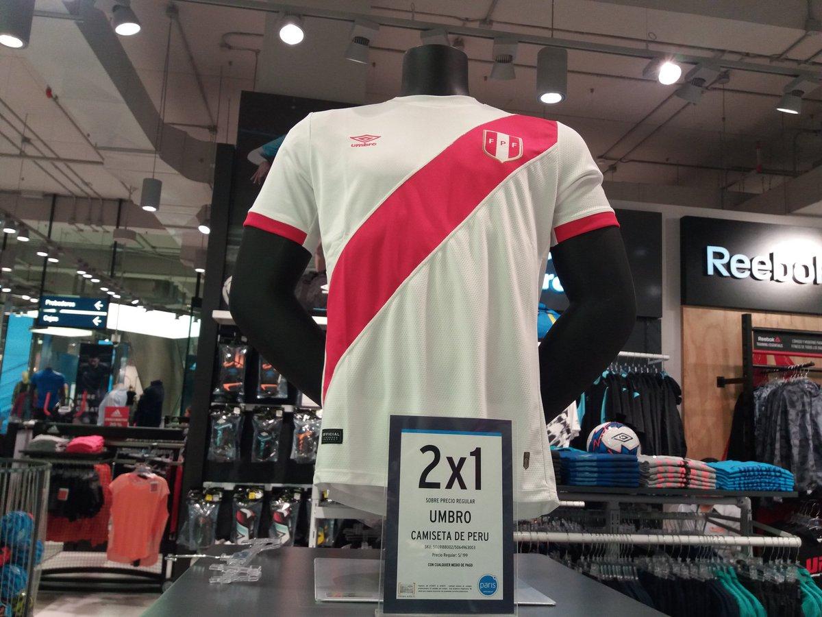 Camiseta de Perú se vendía a 2 x 1 6efdfe870372e