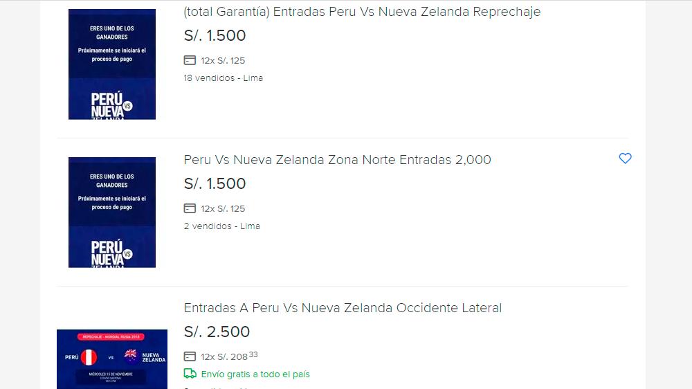 Perú vs. Nueva Zelanda: conoce novedoso método para adquirir entradas