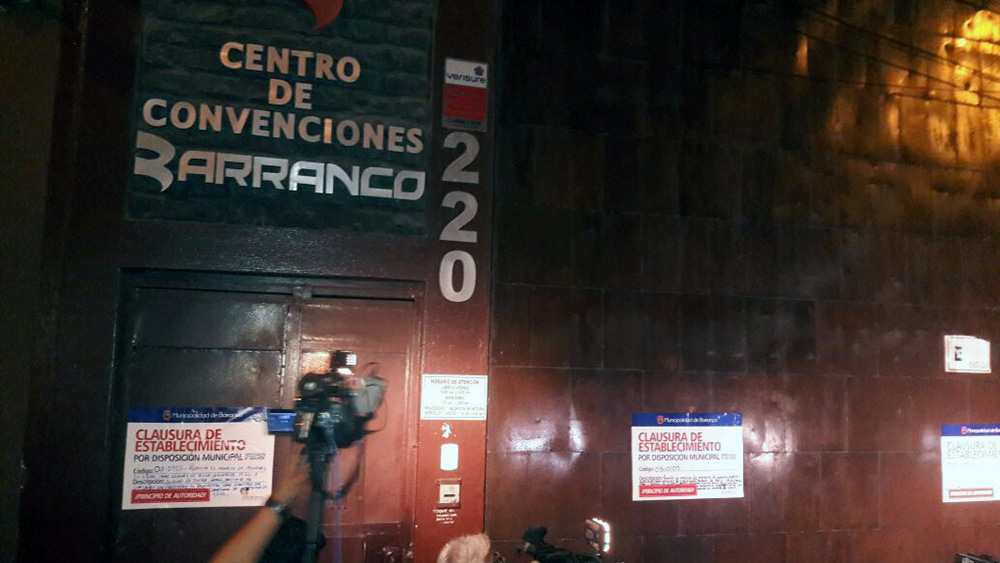 Clausuran local de discoteca Frida en Barranco.