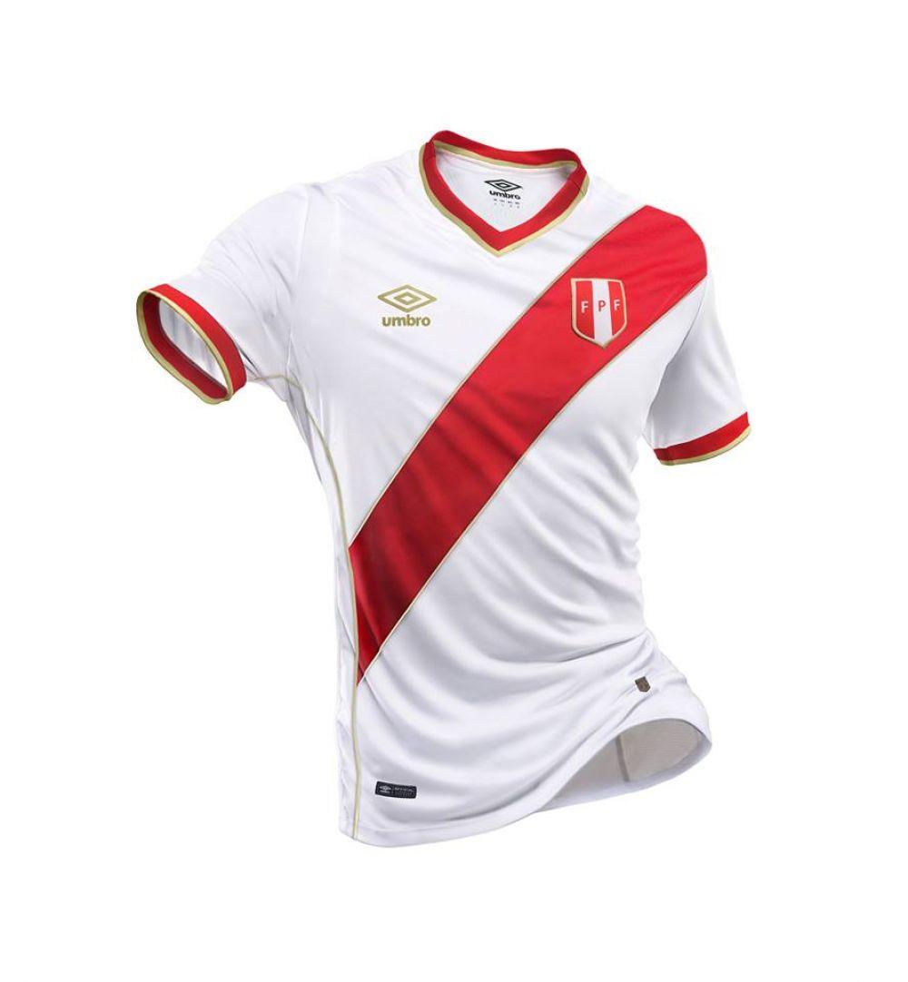 d8889e13f6191 Selección peruana  Se filtra posible camiseta para el Mundial Rusia ...