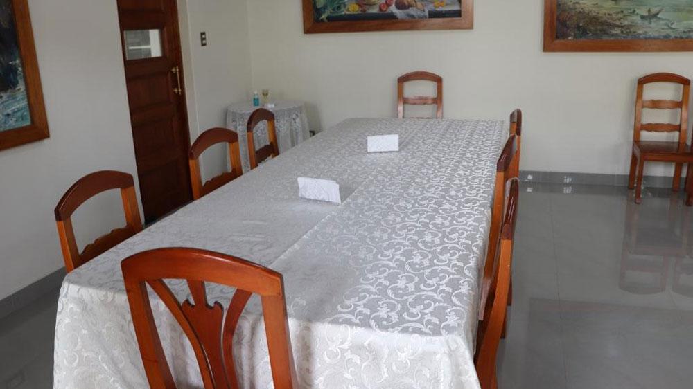 Los ambientes que serán usados por el Papa Francisco en Trujillo.