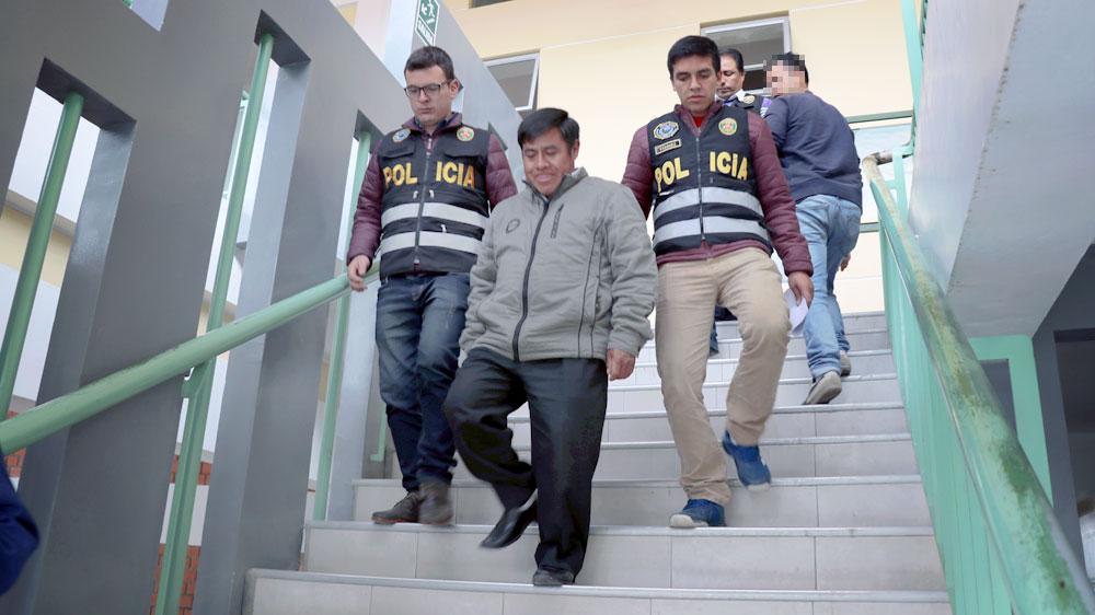 Amador Salazar quedó en calidad de detenido.