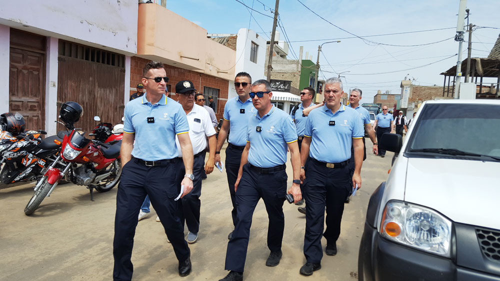 Guardia Suiza verificó seguridad en zonas donde estará el Papa Francisco.