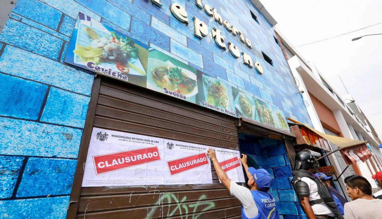 Clausuran cinco cevicherías por operar en condiciones insalubres — Cercado de Lima