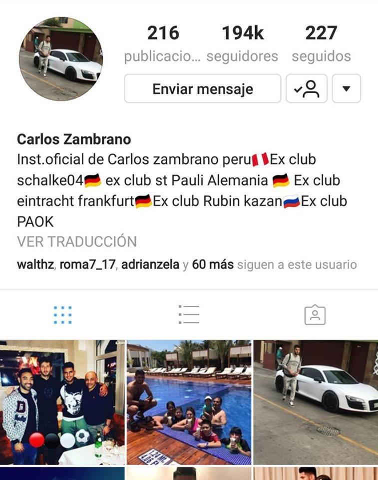 Carlos Zambrano se convirtió en le nuevo jugador del Dinamo de Kiev