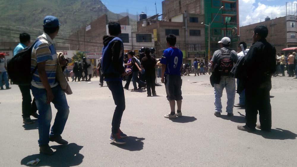 Graves incidentes durante las protestas en Huánuco — Paro agrario
