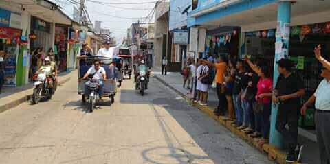 PPK recorre las calles de moyobamba