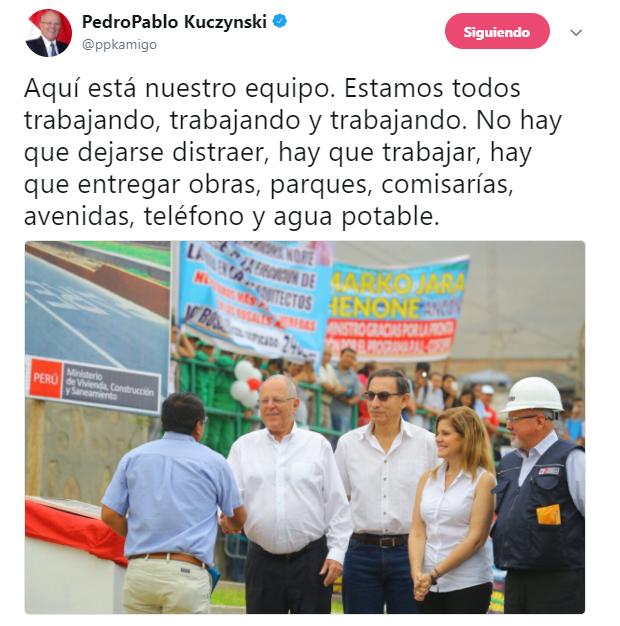 PPK inauguró pistas en Ancón junto a Martín Vizcarra [FOTOS y VIDEO]