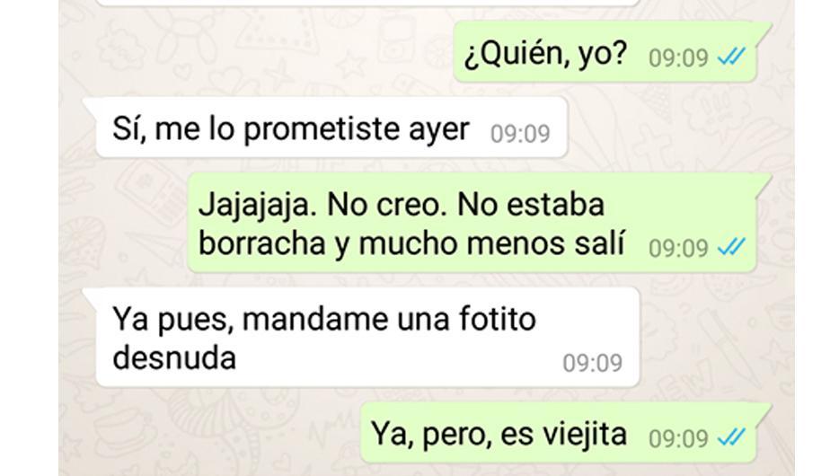 Whatsapp Le Pidieron Una Foto Intima Y Ella Mando Curiosa Imagen
