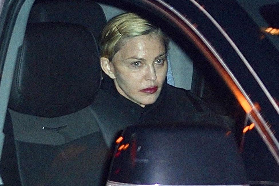 Madonna terrible estado dos