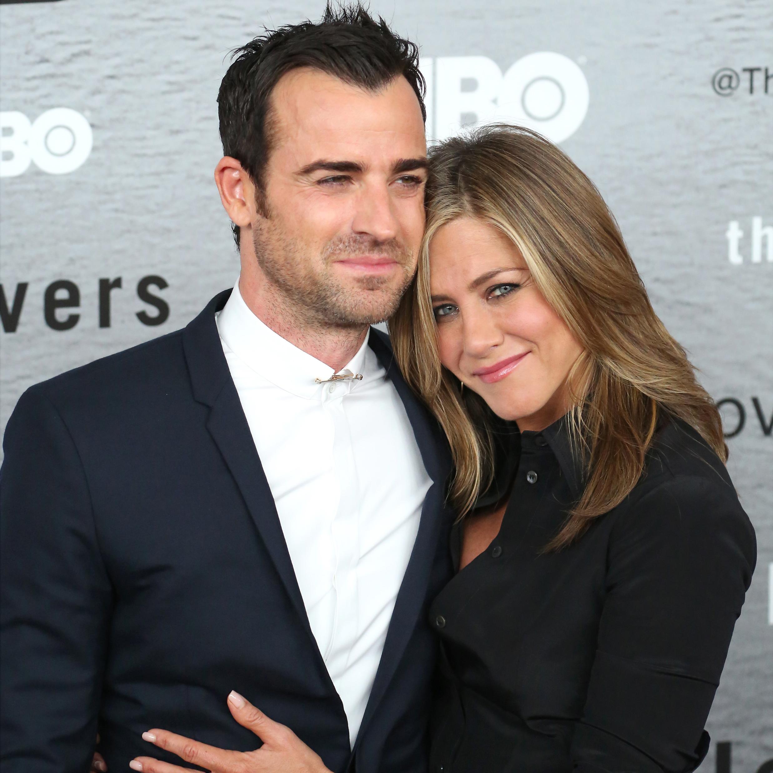 Justin Theroux estrena romance tras su ruptura con Jennifer Aniston