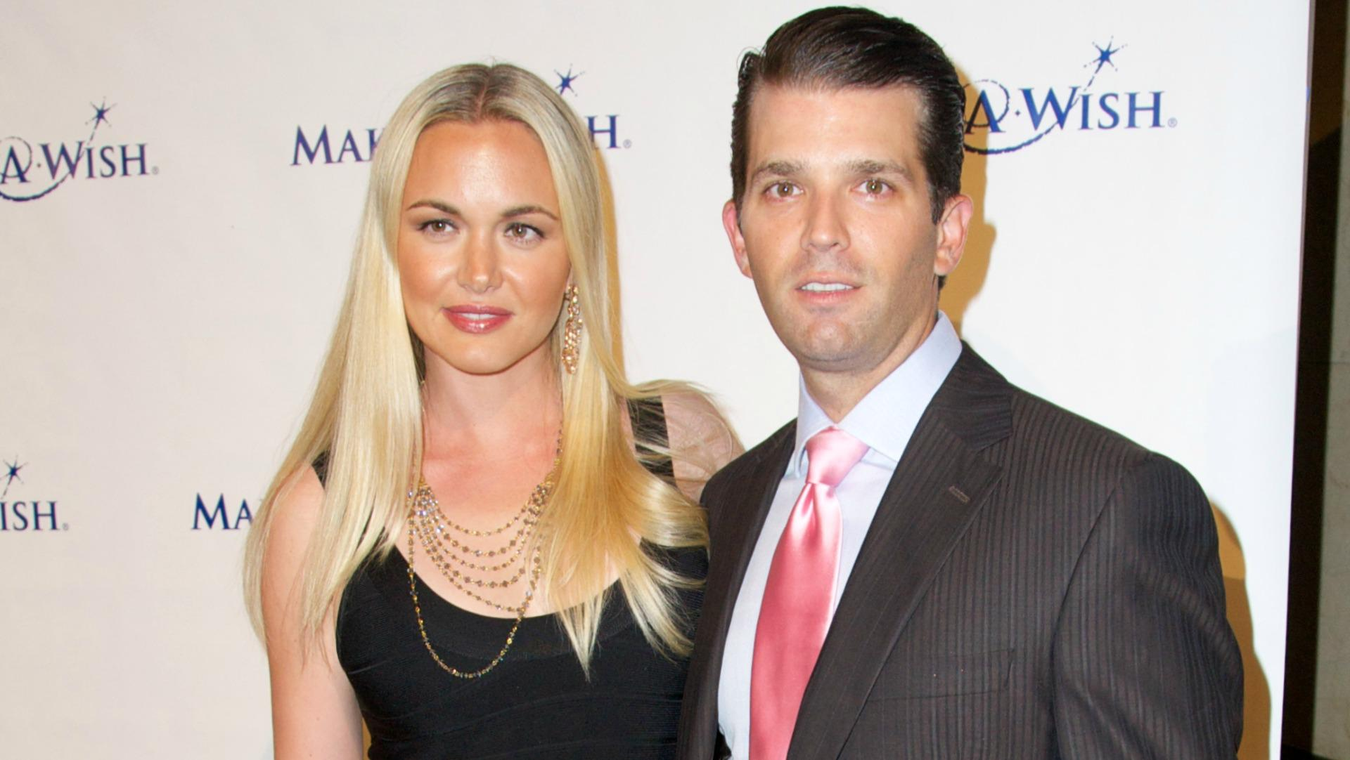 Donald Trump Jr. se divorcia de su esposa, Vanessa Trump