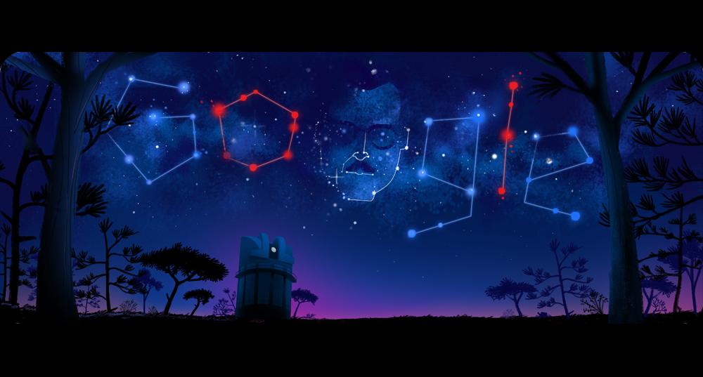 El doodle que preparó Google para recordar su cumpleaños 105 — Guillermo Haro