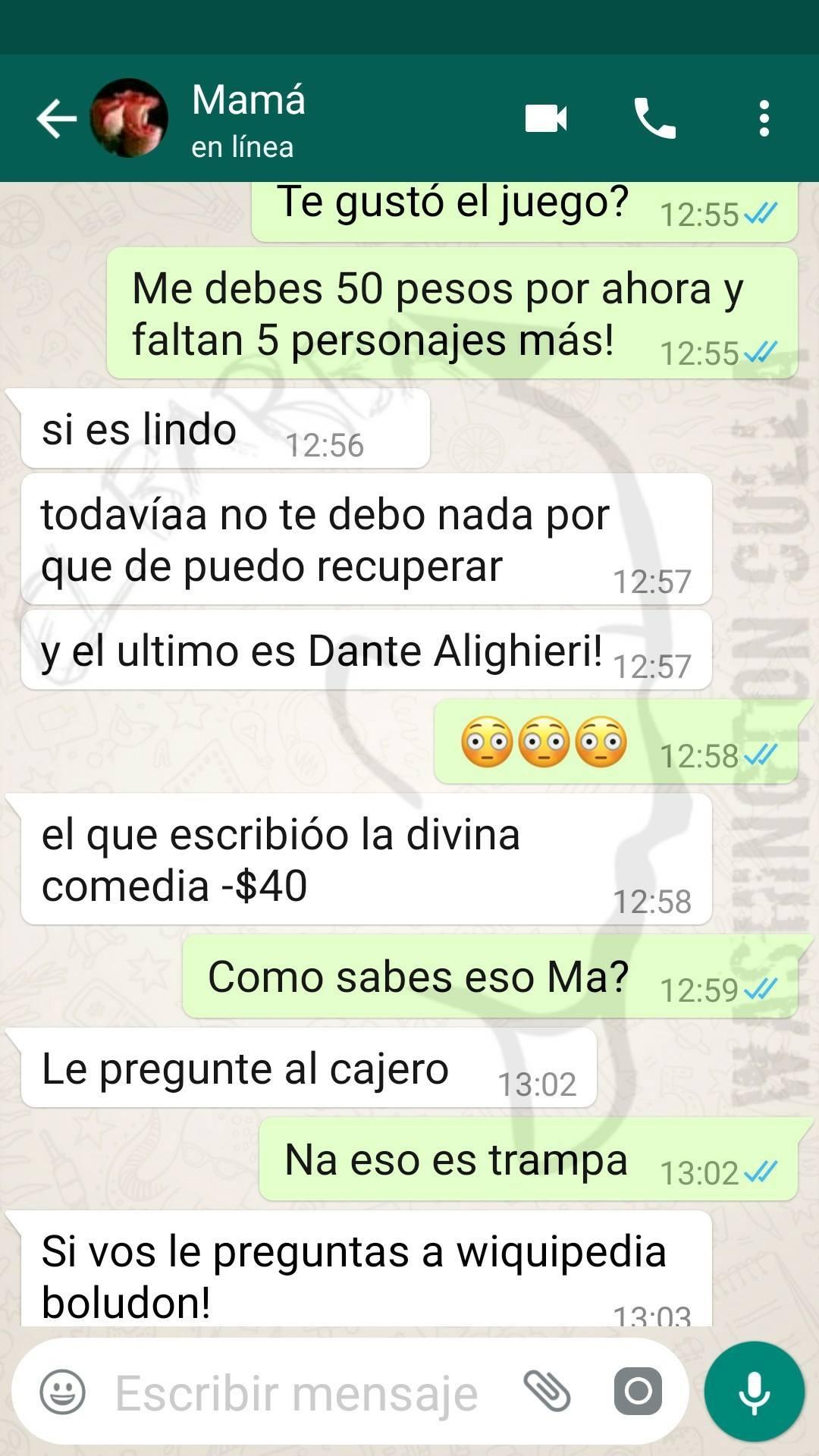 Whatsapp Comica Respuesta De Mujer A Hijo Estafador Te Hara Reir