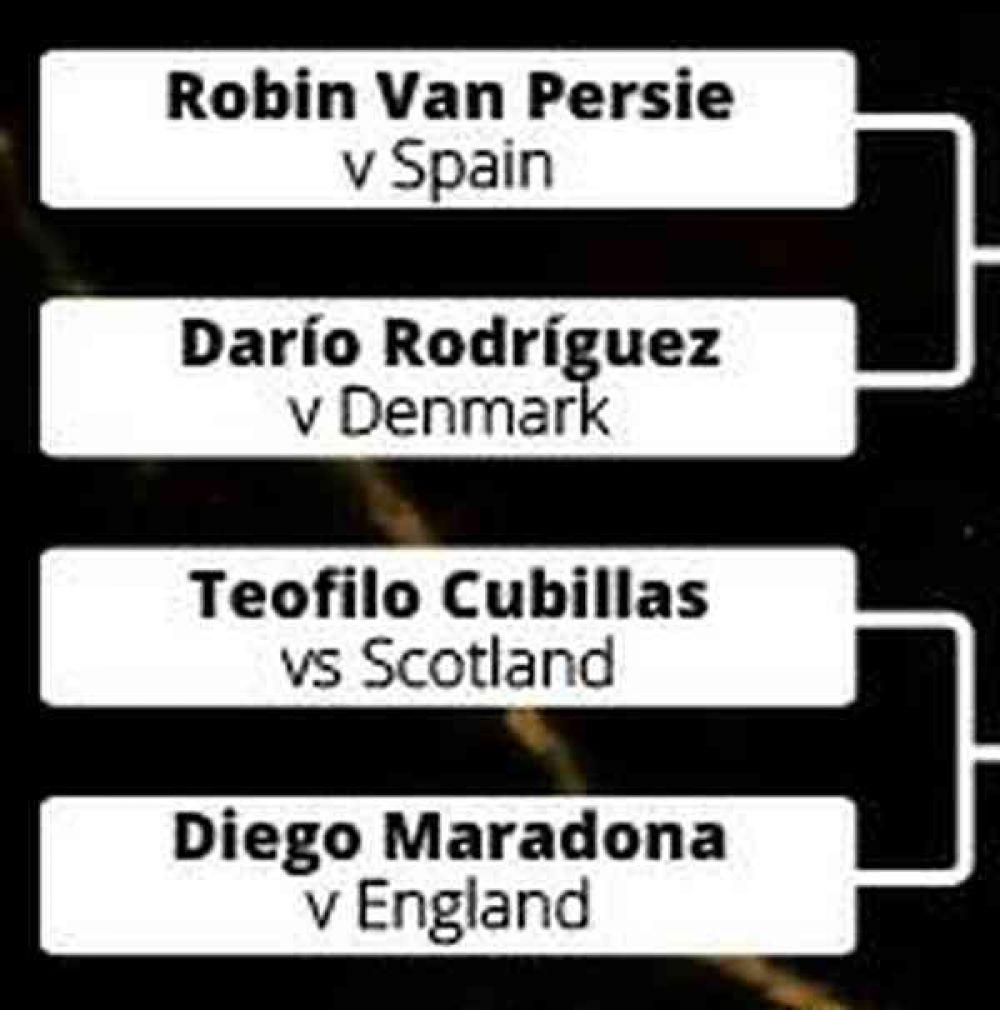 Teófilo Cubillas se impuso a Diego Maradona en votación a mejor gol