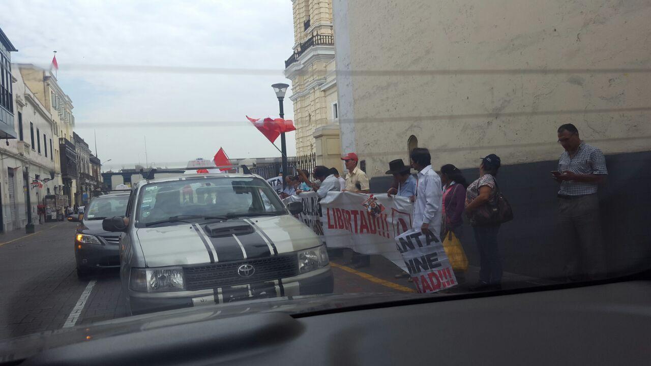 TC postergó evaluación del hábeas corpus de Humala y Heredia