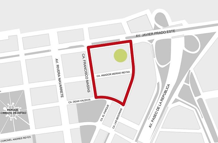 Calles cerradas de San Isidro