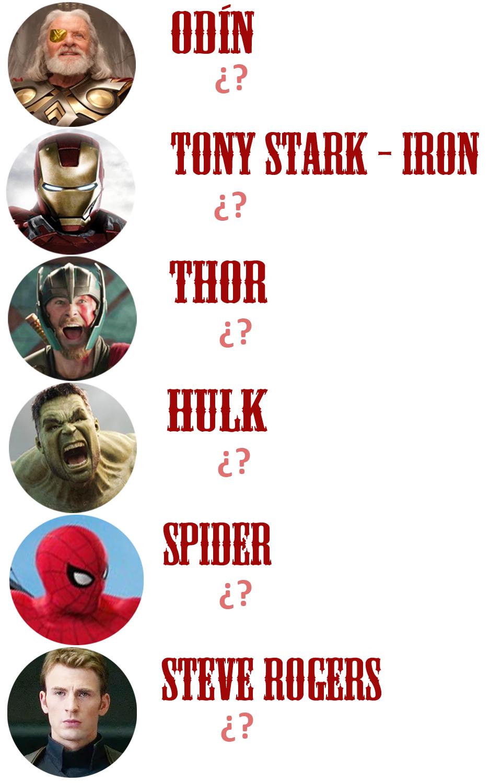 Avengers Infinity War Los Peruanos Que Tienen Nombres De Superhéroes Video La República