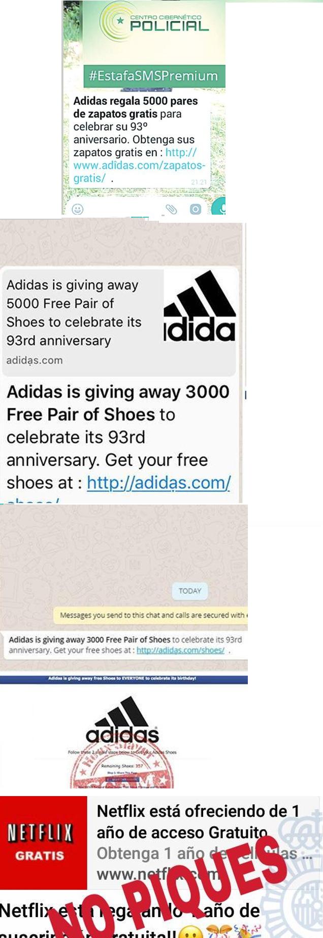 WhatsApp: Nueva estafa ofrece zapatillas gratis, mucho