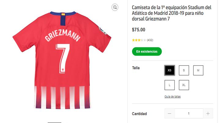 Camiseta Atlético de Madrid Francisco Montero