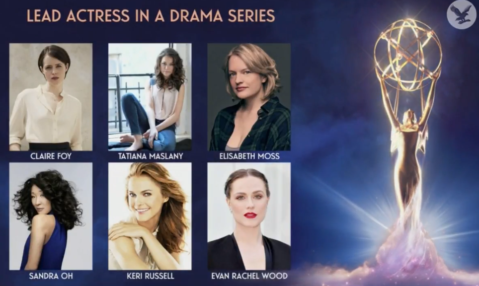 Fuente: Emmy 2018