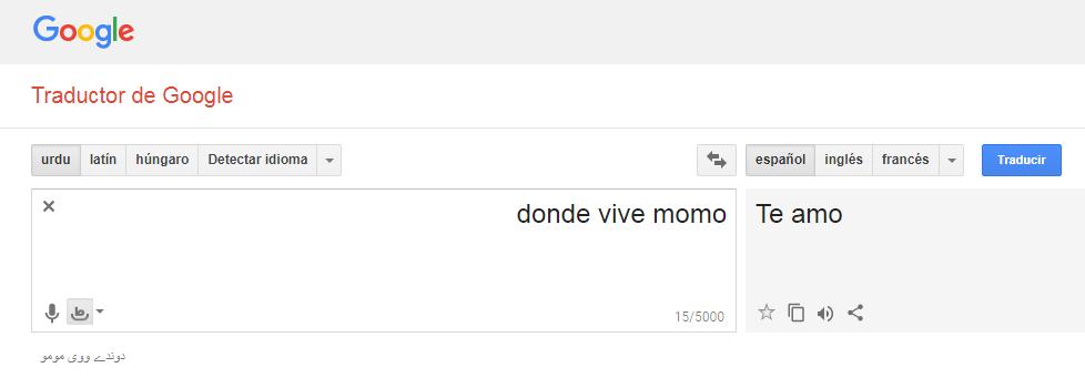 google traductor