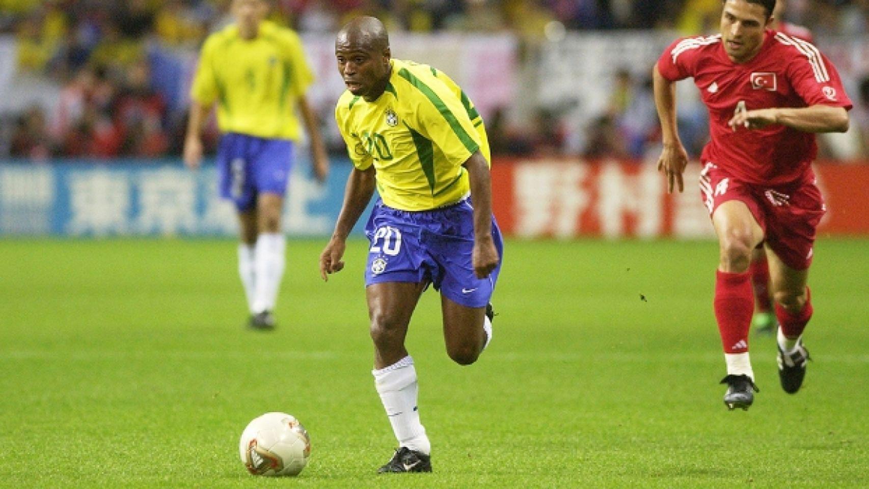 Edilson selección de Brasil