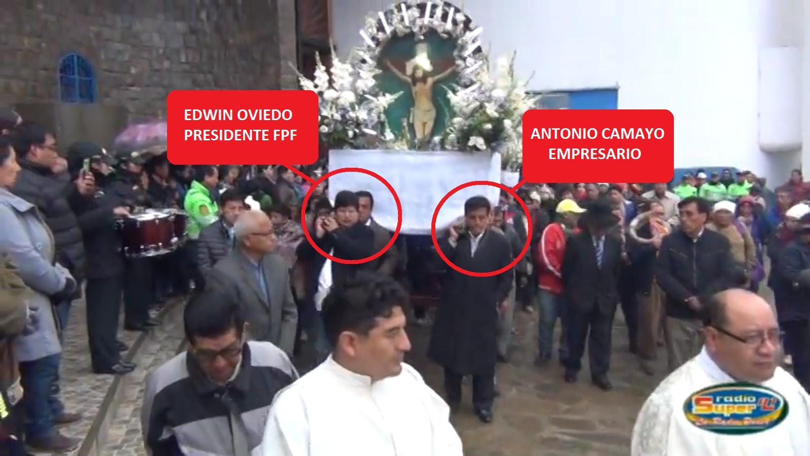 Antonio Camayo y Edwin Oviedo
