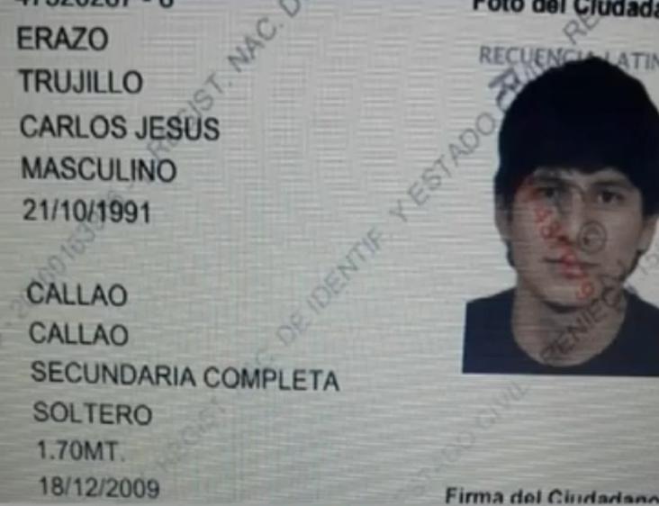 Carlos Jesús Erazo Trujillo