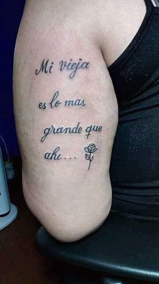 Facebook Se Hizo Un Emotivo Tatuaje En Honor A Su Madre Pero Un
