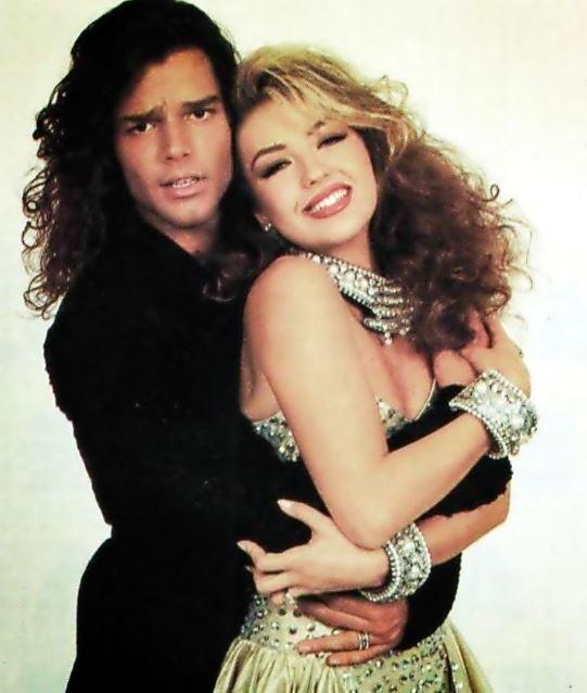 Ricky Martin y Thalía