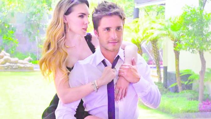 Belinda y Diego Boneta