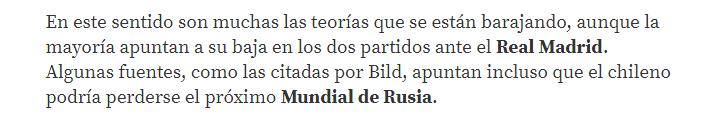 Captura del Diario Sport -España.