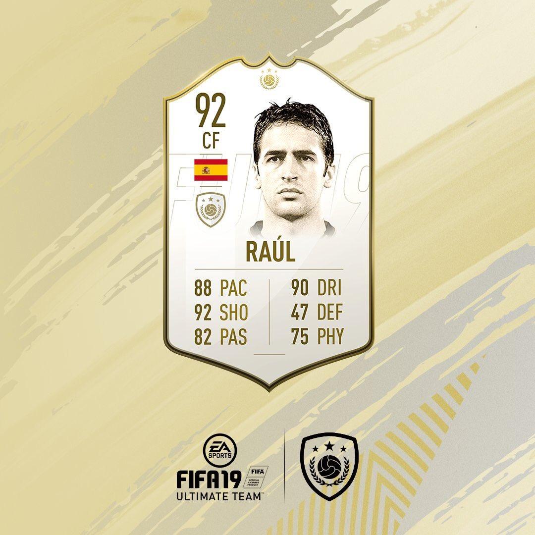 FIFA 19 RAUL GONZALEZ