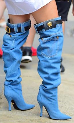 Botas de jean