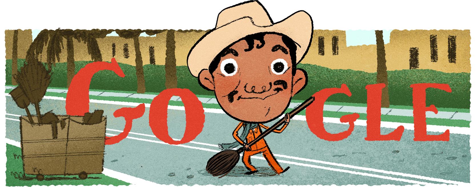 Doodle de Cantinflas