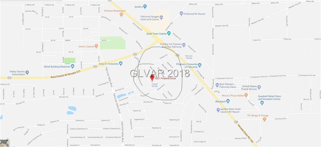 Pahrump Nv Zip Code Map.1031 South Firebird Pahrump Nv 89048 Vivahomevegas Com