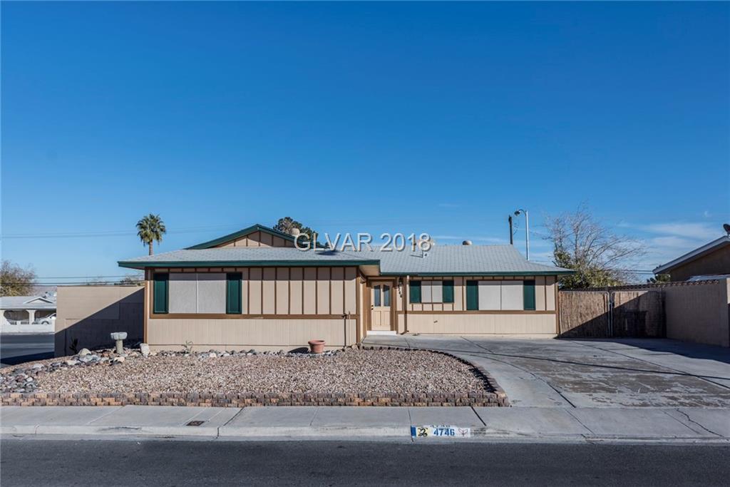 4746 El Canasta Way Las Vegas NV 89121