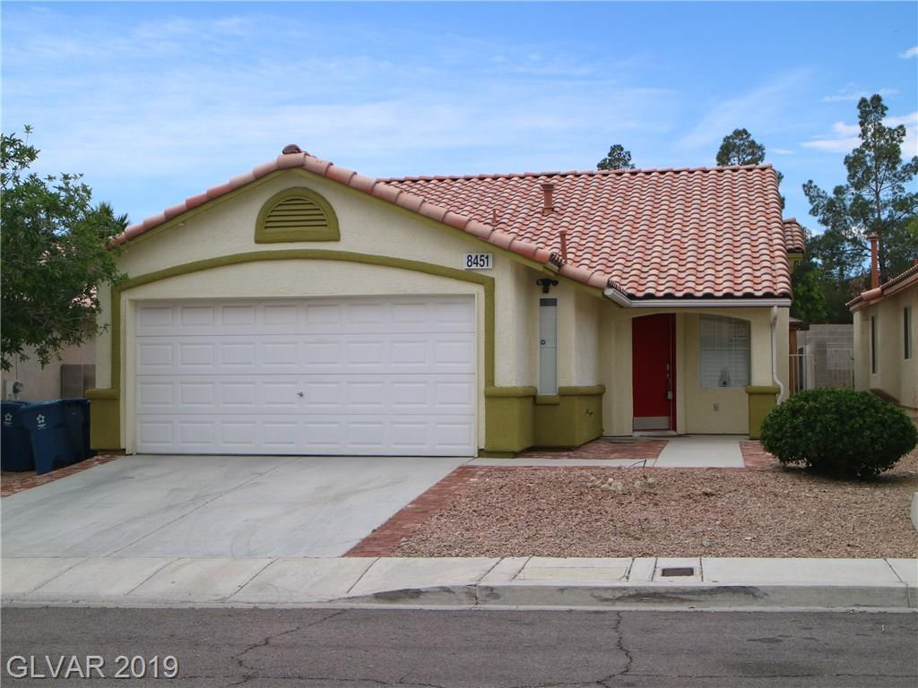8451 Green Mesa Court Las Vegas NV 89147