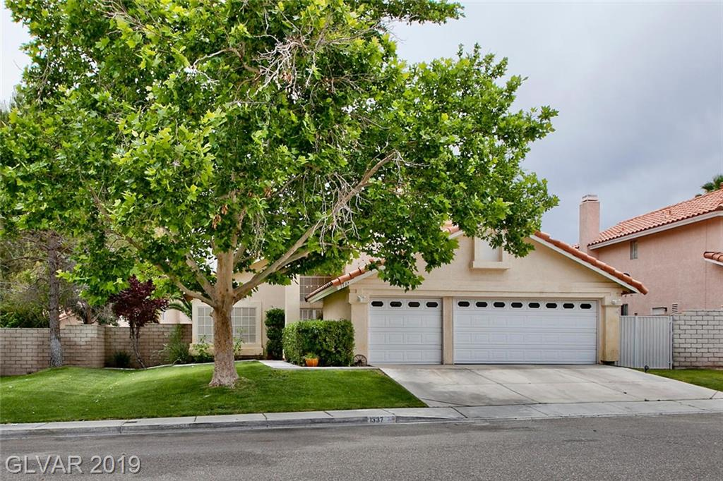 1337 Red Hollow Dr North Las Vegas NV 89031