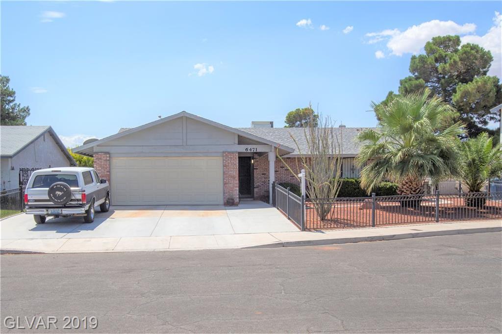 6471 Hummingbird Lane Las Vegas NV 89103