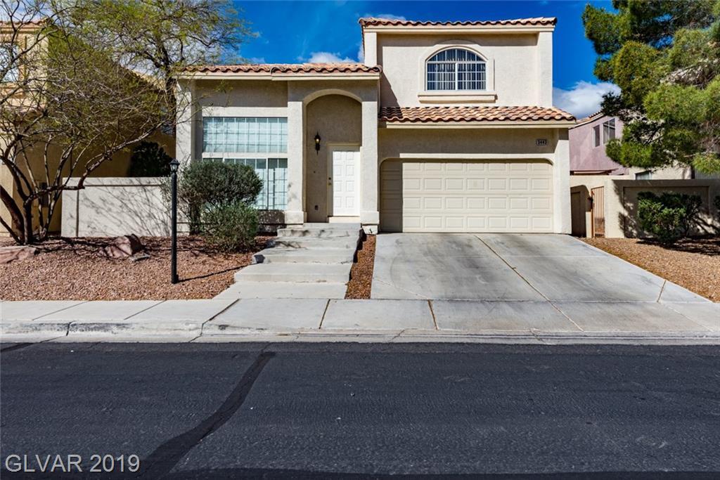 3443 Middle View Drive Las Vegas NV 89129