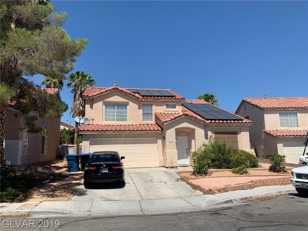 822 Holly Sprig Ct North Las Vegas NV 89032