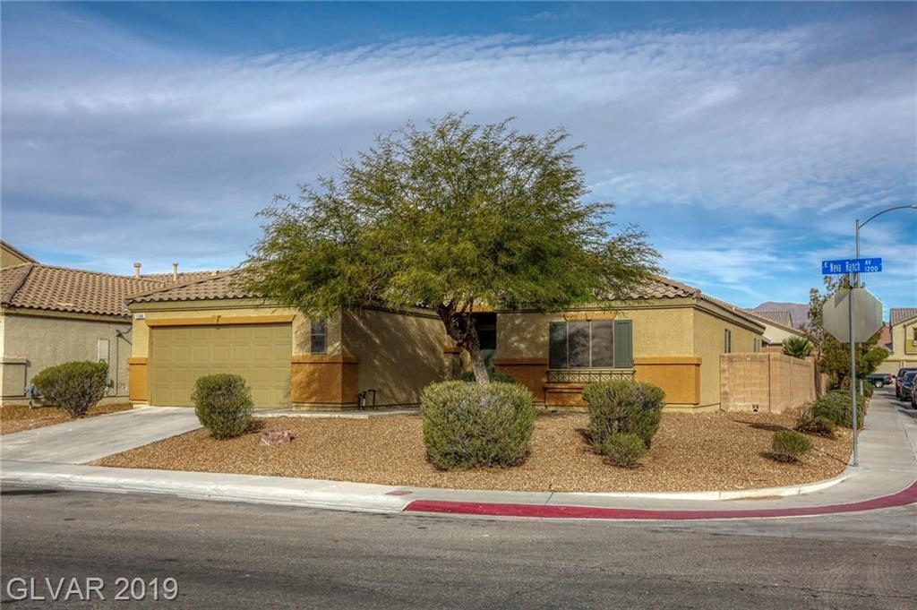 1208 Neva Ranch Ave North Las Vegas NV 89081