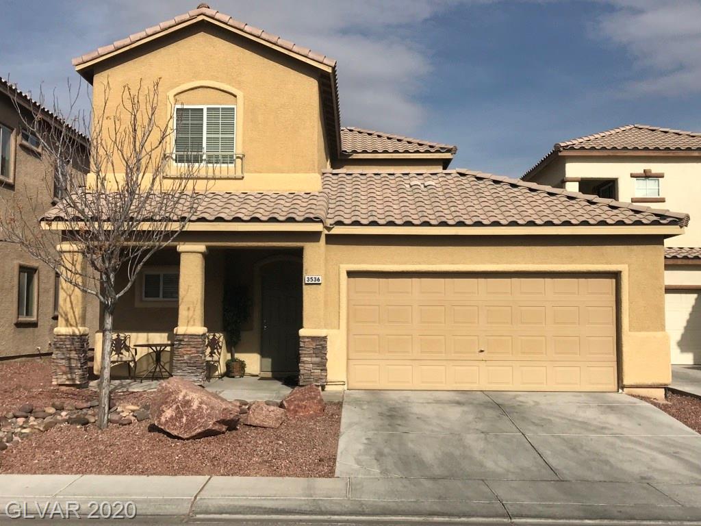 3536 Terneza North Las Vegas NV 89081