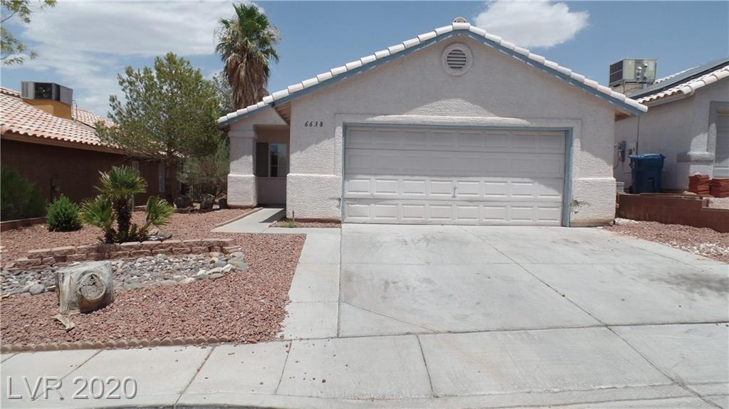 6638 Mount Dutton Drive Las Vegas NV 89156