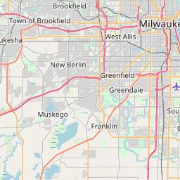 Zip Code Map Milwaukee Map of Area Code 414   Info and List of Zipcodes in Area Code 414