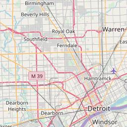 detroit map by zip code Map Of Area Code 313 Info And List Of Zipcodes In Area Code 313 detroit map by zip code