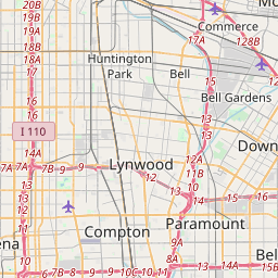 postal code california zip code map